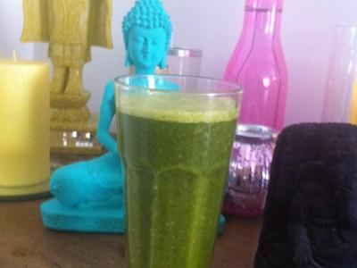 Suco verde de todas as manhãs!